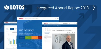 Grupa LOTOS publishes its 2013 Integrated Annual Report